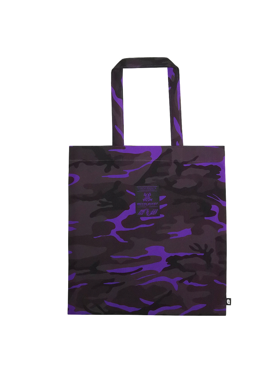 CAMOUFLAGE BAG - PURPLE