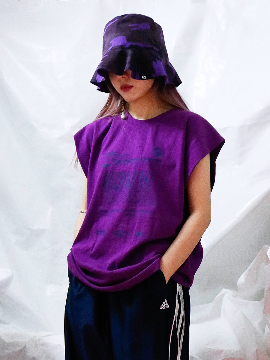 [18S/S] UNISEX ORIGINAL T-SHIRT - PURPLE