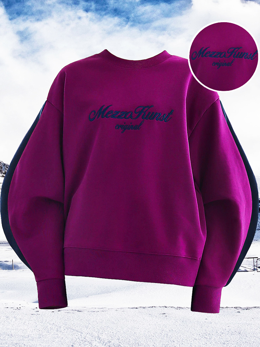 UNISEX HIGHER SWEAT SHIRT - PURPLE