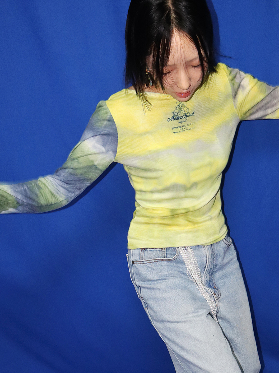 CLOUD  T-SHIRT - YELLOW
