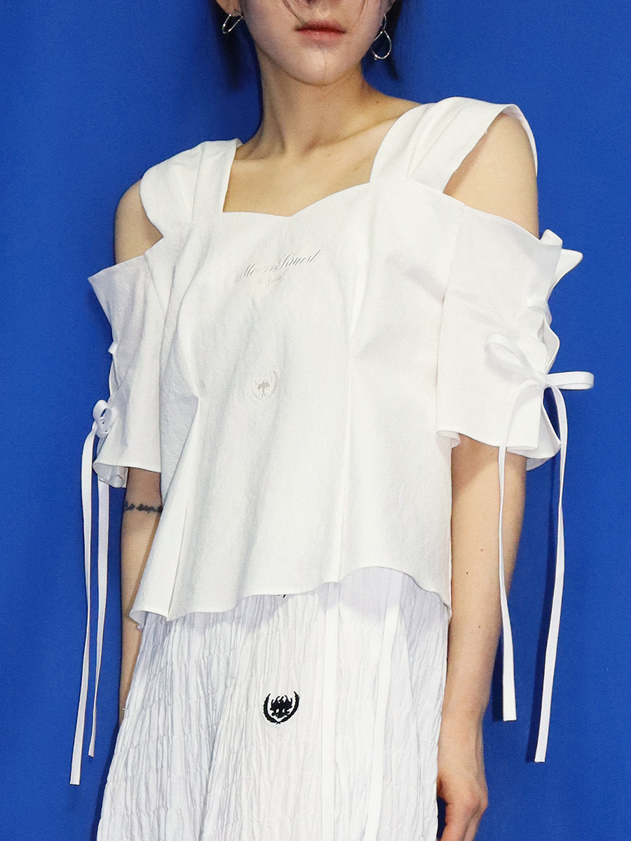 MUSE BLOUSE - WHITE