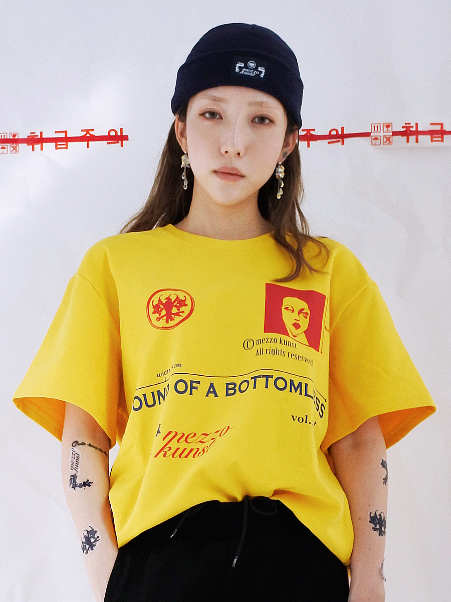 [17S/S] KUNST T-SHIRT - YELLOW