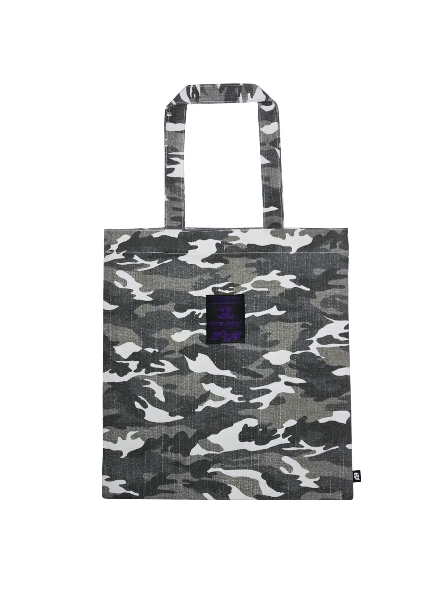 CAMOUFLAGE BAG - WHITE