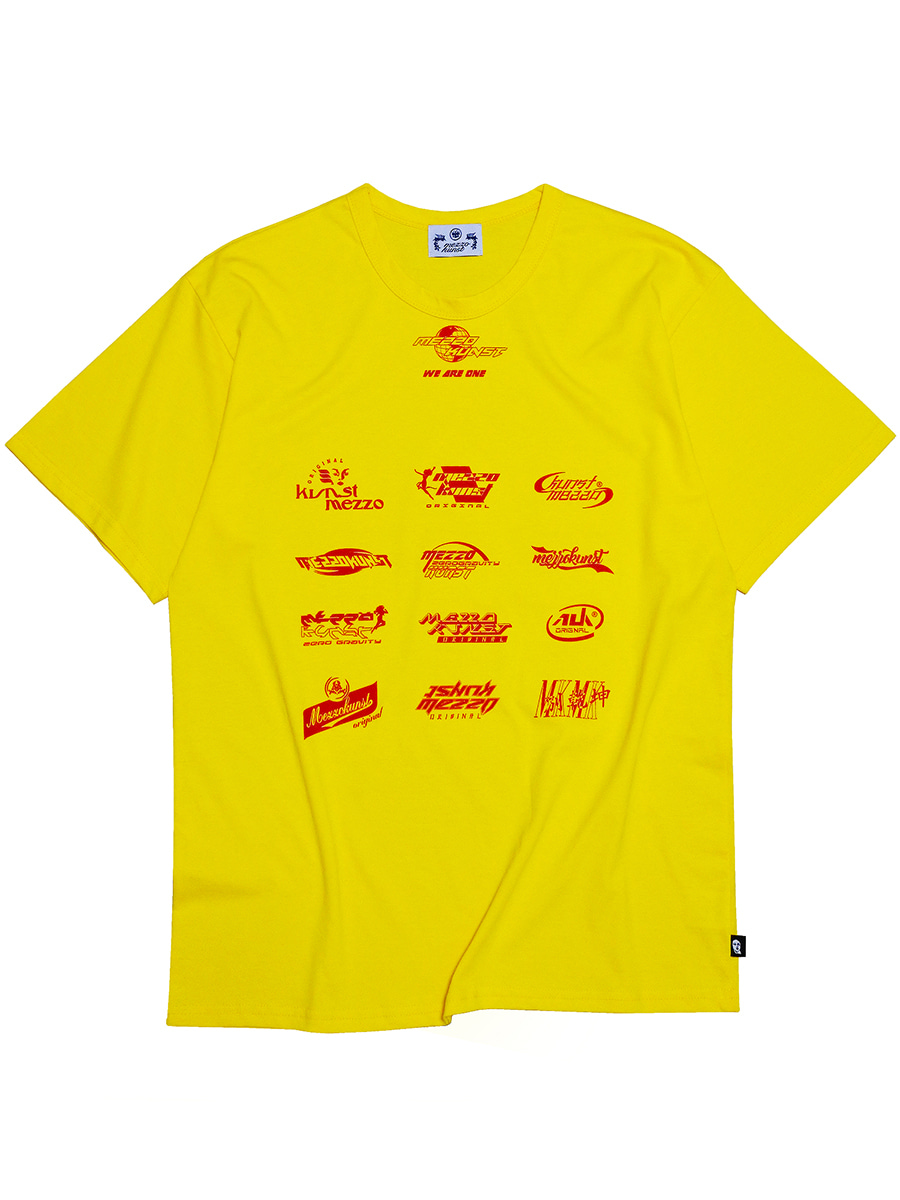 UNISEX FAMOUS T-SHIRT - YELLOW