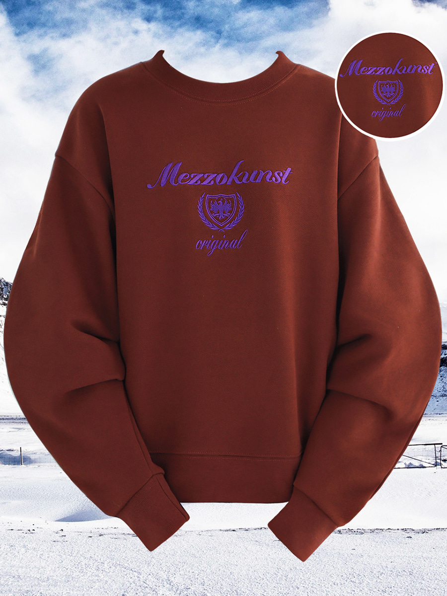UNISEX ORIGINAL SWEAT SHIRT - BROWN