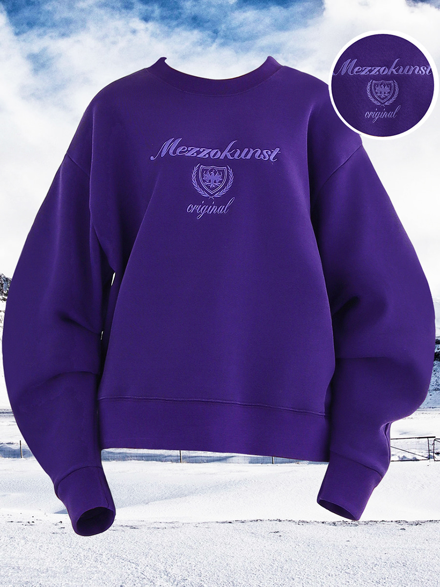 [50%OFF] UNISEX ORIGINAL SWEAT SHIRT - PURPLE