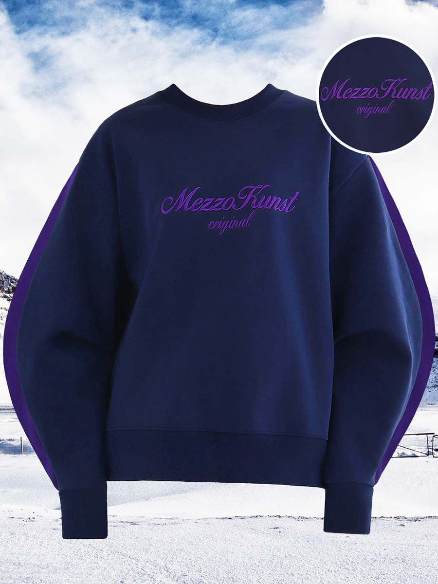 UNISEX HIGHER SWEAT SHIRT - NAVY